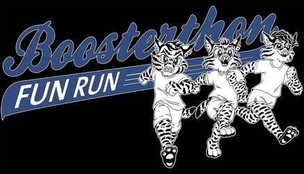 Fun Run T-Shirt Design - 2 colors by TessandraFae