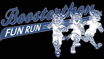 Fun Run T-Shirt Design - 1 color