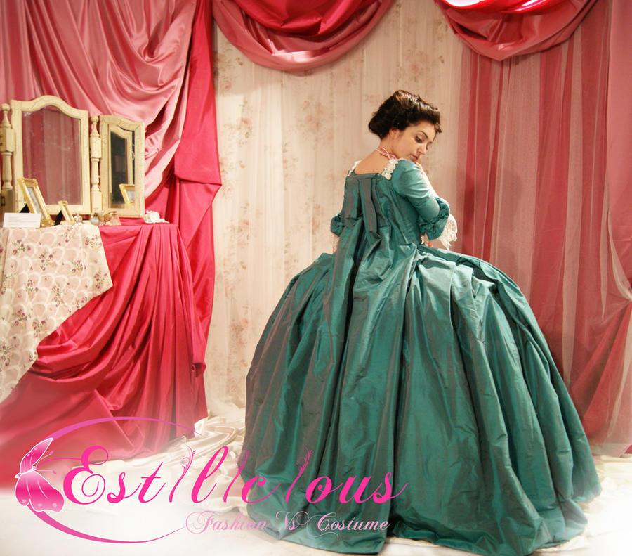 madame pompadour costume by estilicious