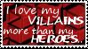 I Love My Villains by NocturnalMelody9