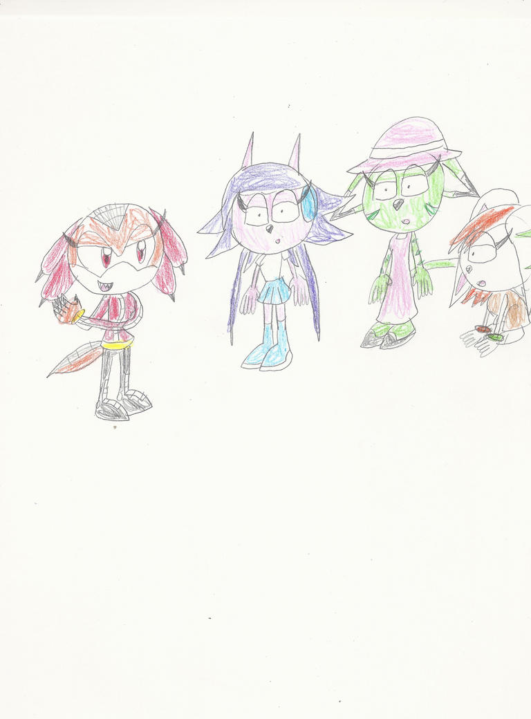 AT: Lyra and her Freedom Planet dolls by mastergamer20