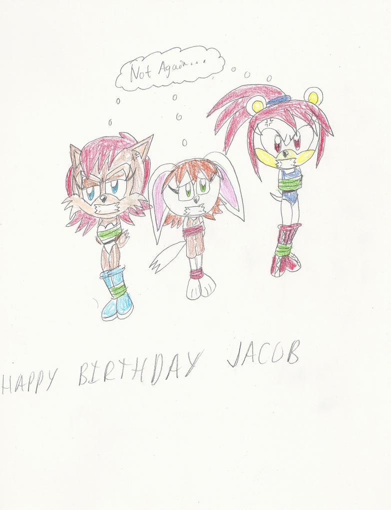 Damsel Birthday for Jacob by mastergamer20