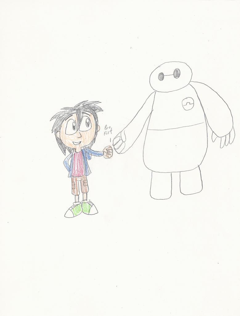Hiro and Baymax by mastergamer20