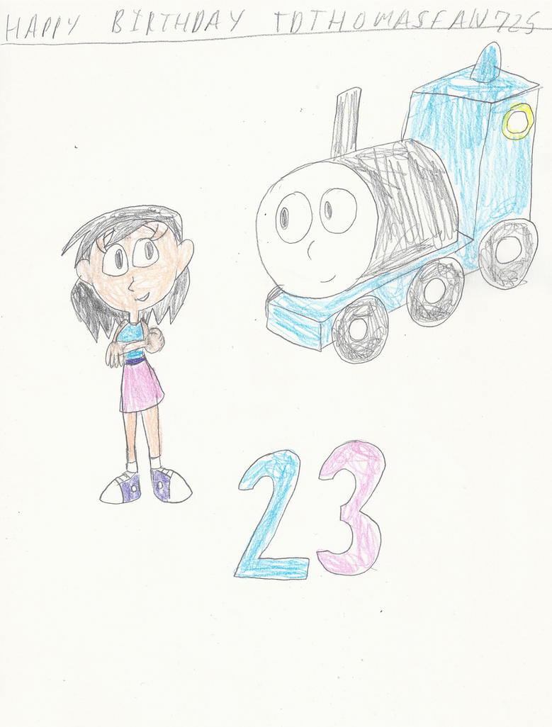 Gift: Sky and Thomas by mastergamer20