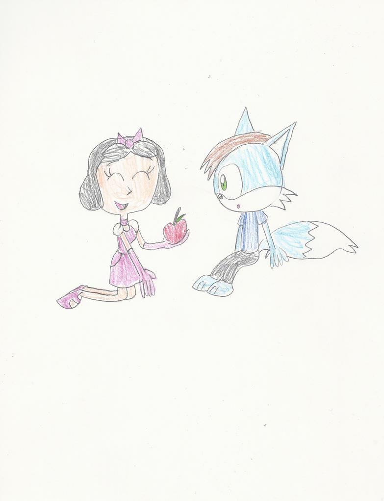 AT: Ella and Blue by mastergamer20