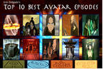 Erin's Top 10 Favorite Avatar Episodes