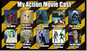Spider-Man - Action Movie Idea