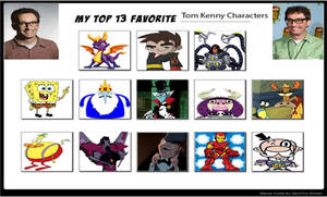 Erin's Top 13 Tom Kenny Characters