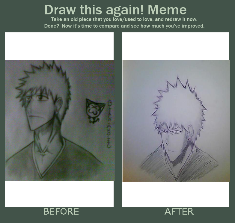 Ichigo Before And After By Bleach AholicX3
