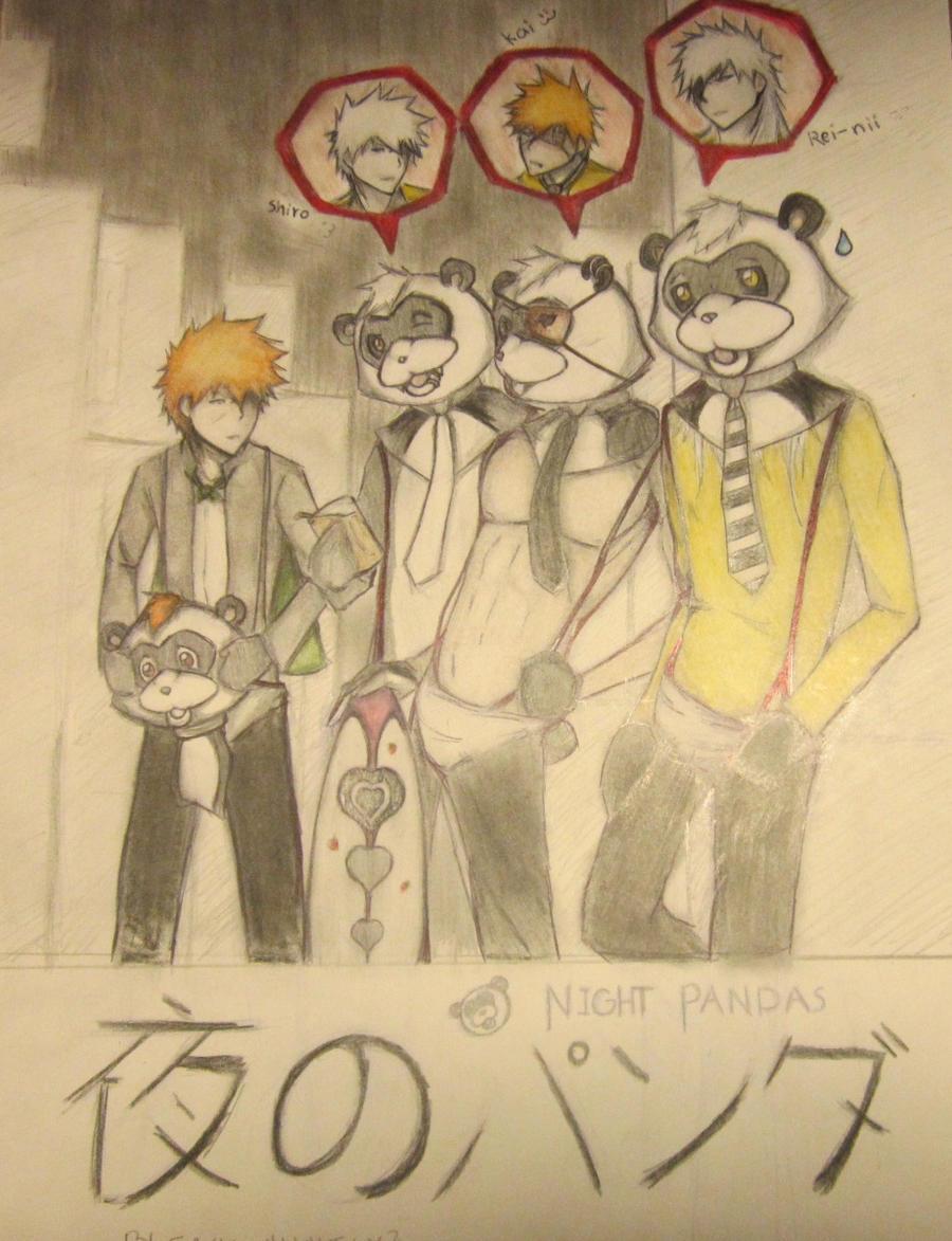 Shiro Triplets: NIGHT PANDAS by bleach-aholicX3