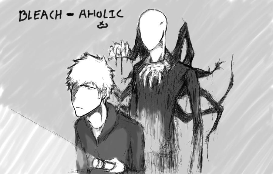 Ichigo and Slender Man by bleach-aholicX3 on DeviantArt