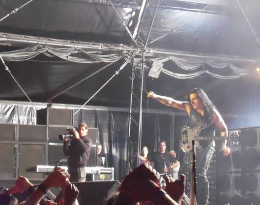hellfest 2009 - manowar Joey
