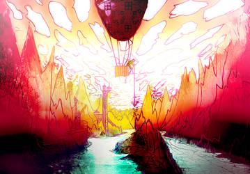 Dawn AirBallon journey