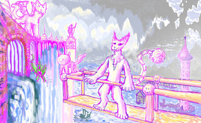 Another furry in magic cave!!!!