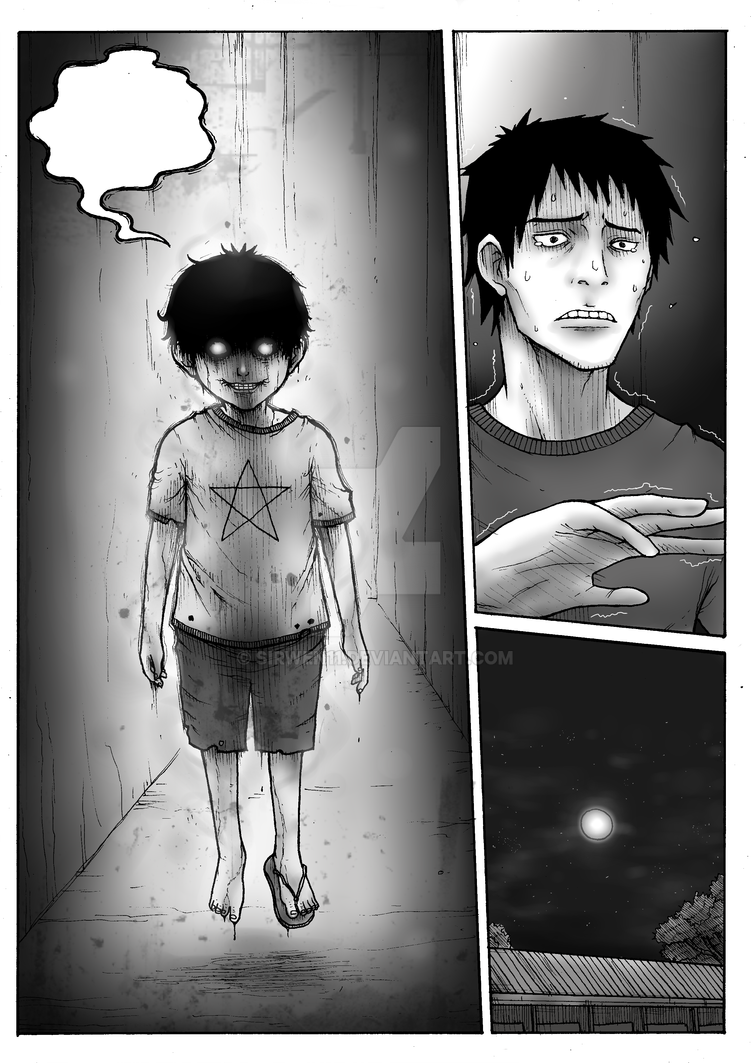 Horror sample page by sirwen11