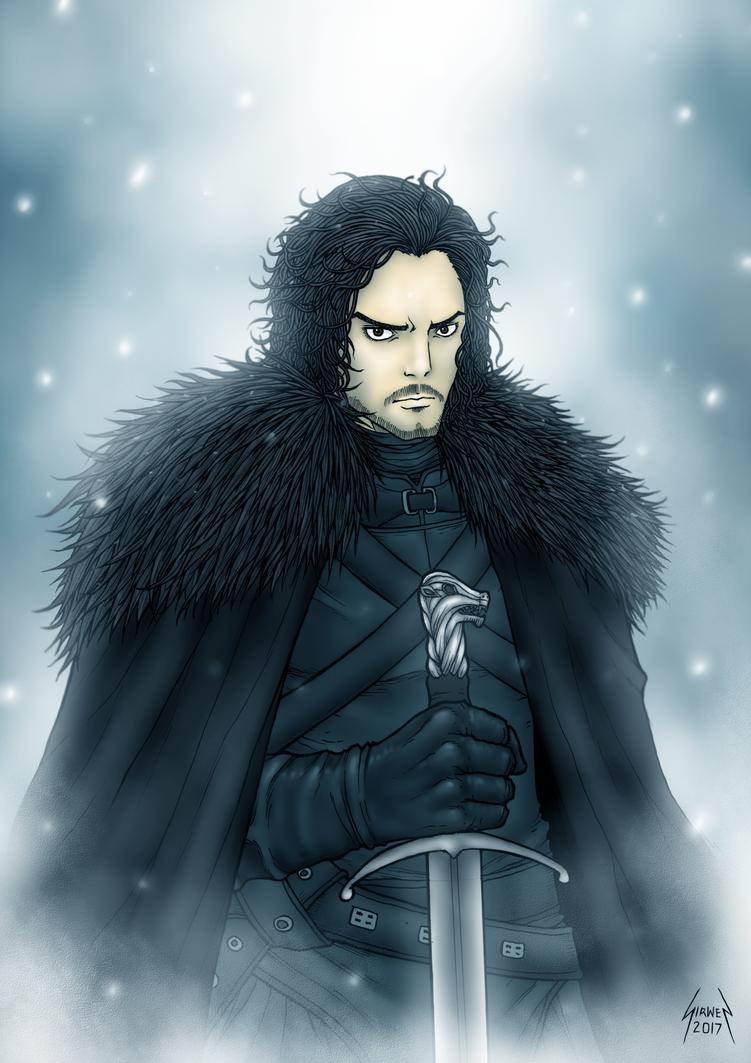 Jon Snow by sirwen11