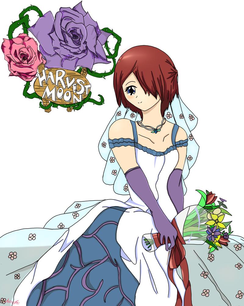 Nami Wedding (Harvest Moon Fan Art) by Animefox52 on ...