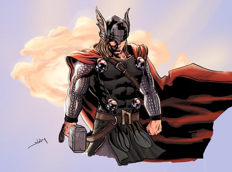 Loki kastélya Thor_by_WillSliney