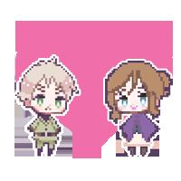 HetFrUK Pixels by SailorMoonie89