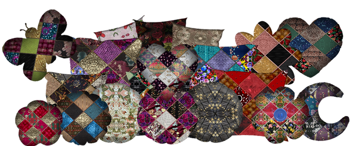 A collection Of pillow  Cusions  By Cr