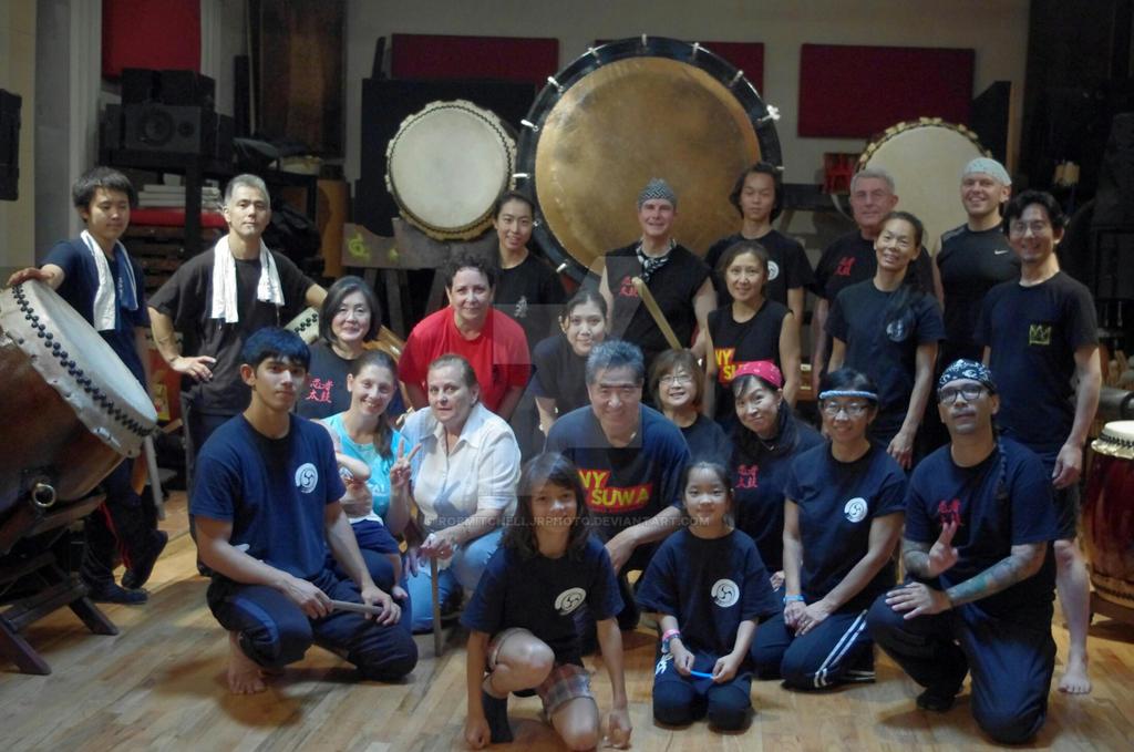 New York Suwa Taiko Association by RobMitchellJrPhoto