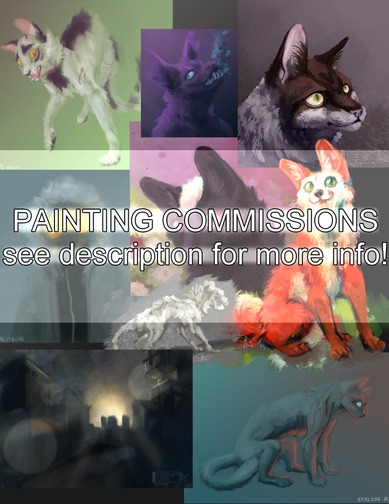 Painting Commissions by SkrzynkaPandory