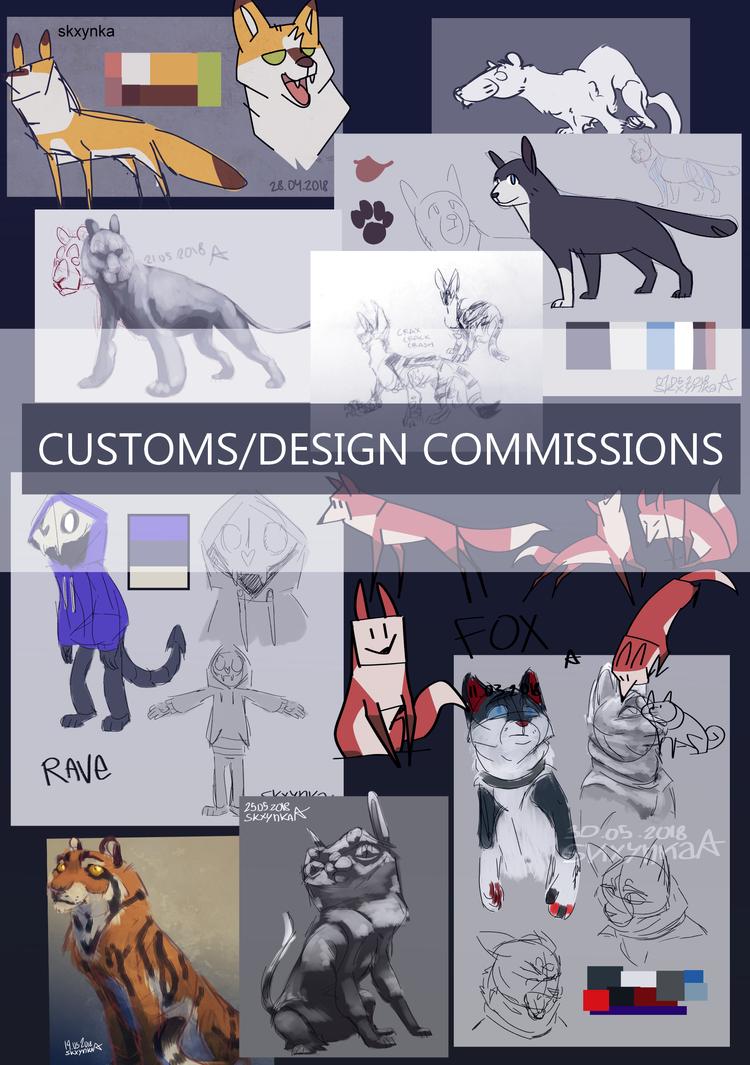 Customs by SkrzynkaPandory