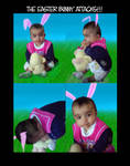 :The easter bunny attacks: