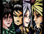 Soul Calibur Faces colored