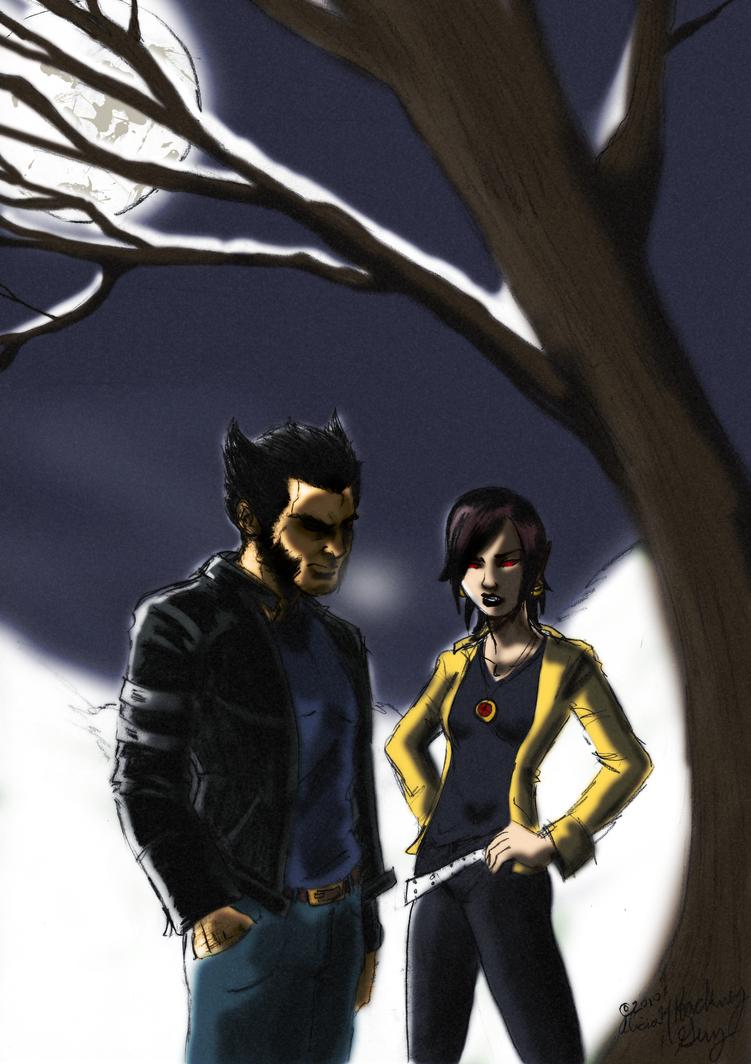 X-Men -  Winterland by kadenfukuyama