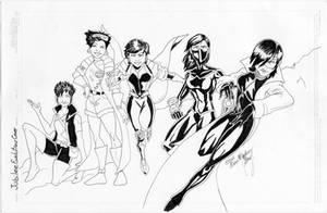 X-MenEvolutions Jubilee-lines by kadenfukuyama