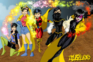 X-Men Evolutions Jubilee fin by kadenfukuyama