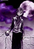 Serial Experiments Raven by kadenfukuyama