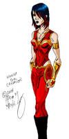 Wonder Girl TTG Redesign