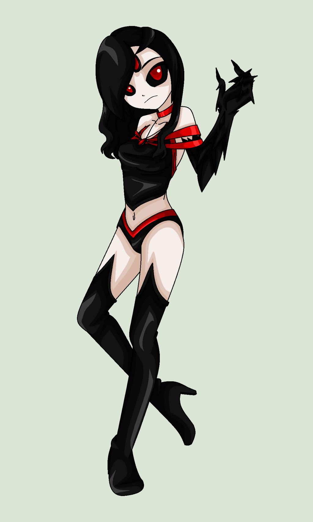 Raven's Demon Form by MaliceInTheAbyss on DeviantArt