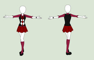 Fashion Design: School Uniform by MaliceInTheAbyss