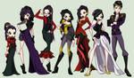 Royal Dark Fairy Family