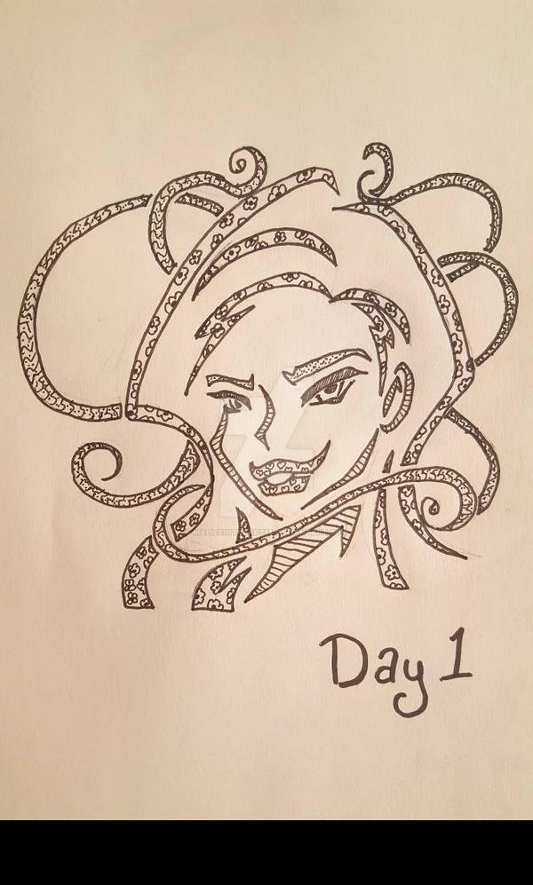 INKTOBER Day 1: Poisonous by MaliceInTheAbyss