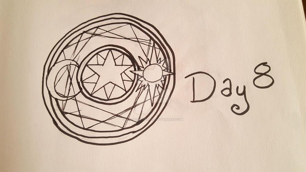 INKTOBER Day 8: Star by MaliceInTheAbyss