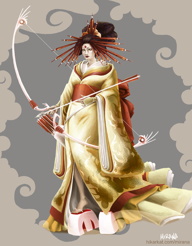 Amaterasu by mirana on DeviantArt
