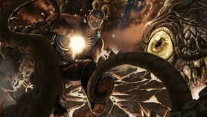 Gears of War Hell by mirana