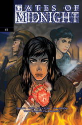 Gates of Midnight Issue #3 Cover by mirana