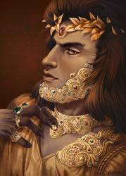 God of Wealth by mirana