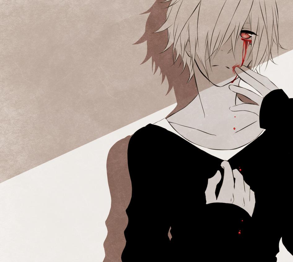Crying blood by tsukiharu