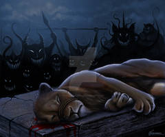 Aslan Slain