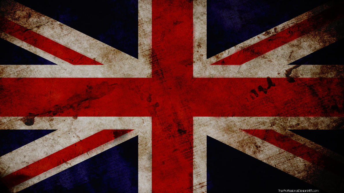 Great Britain grunge wallpaper by The-proffesional