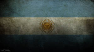 Argentina grungy flag by The-proffesional