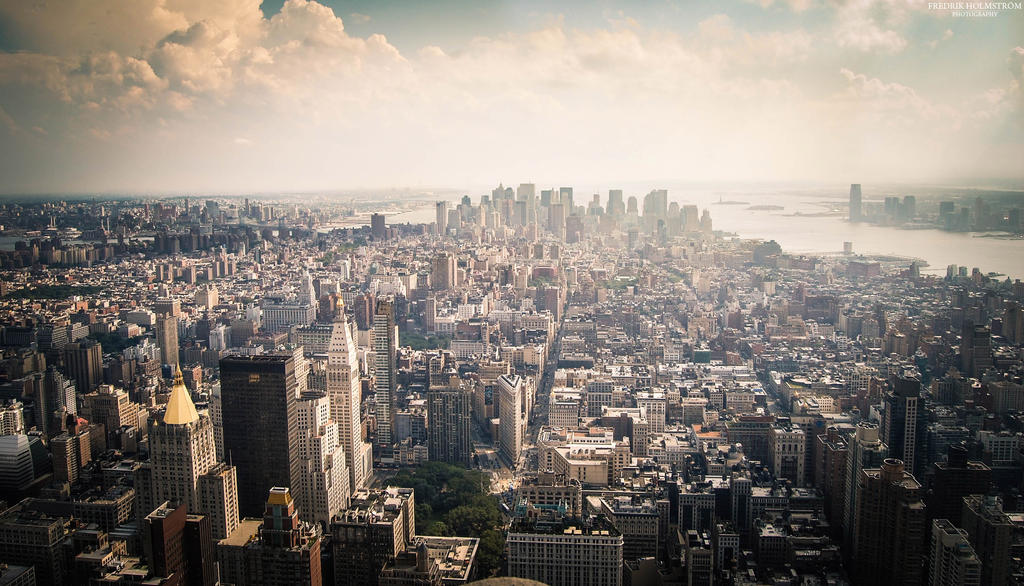 New York horizon by The-proffesional