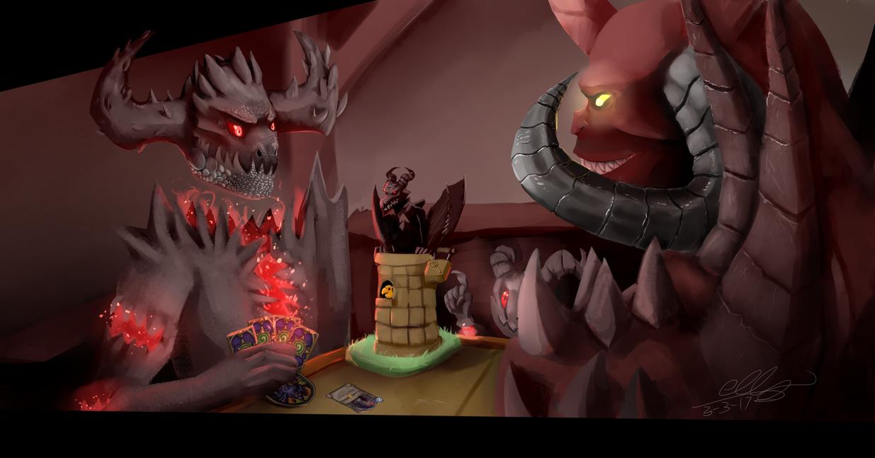 Demon's Duel by Ellzilla