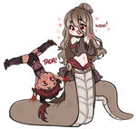 Chibi Forte and Lyra